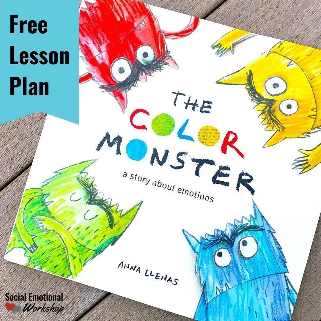 Color Monster Free Lesson Plan