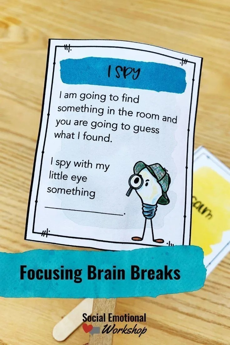 Focusing Brain Breaks