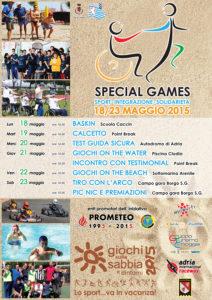 special web 212x300 SPECIAL GAMES WEEK   18/23 maggio 2015, Chioggia