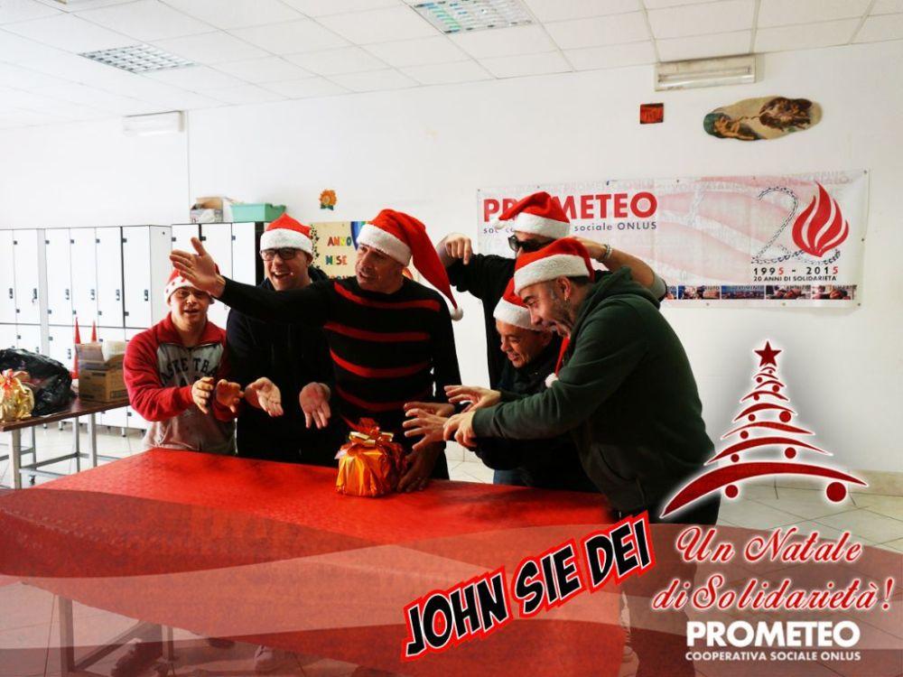 DSC03553 John See a Day live in Prometeo Sociale Onlus!!!!