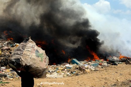 Earth is our Home - A flashback to the Olusosun dumpsite Fire Incident in Lagos