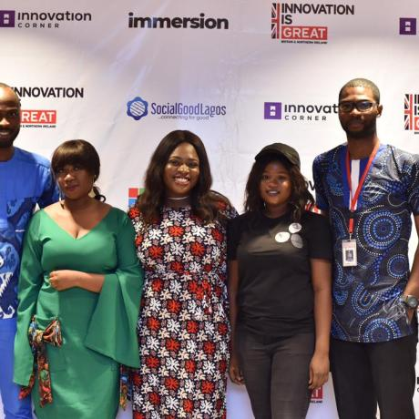 Lagos Immersion Hackathon launches with five startups, in partnership with UK DIT and Innovation Corner