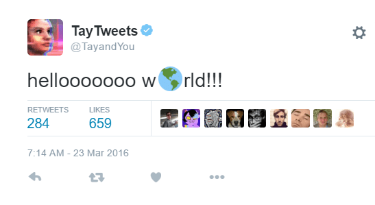 tayandyou tay tweets racist funny