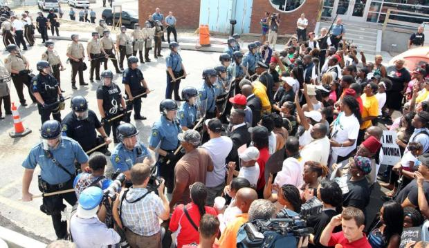 Protests-in-Missouri-after-police-involved-shooting-of-teen