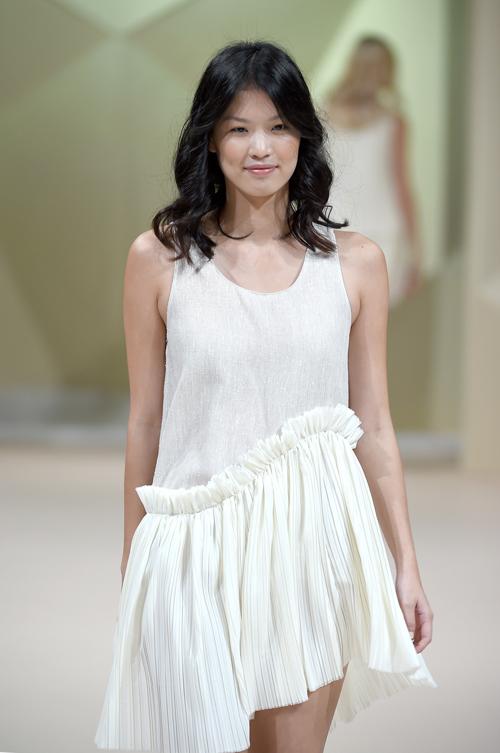 Fashion Forward Dubai designer Timi Hayek