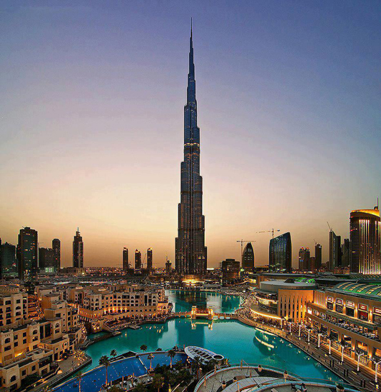 Burj-Khalifa,-Dubai,-United-Arab-Emirates