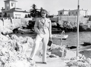 Marlene Dietrich at the Hotel du Cap