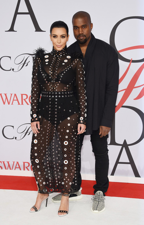 Kim Kardashian - West and Kanye West
