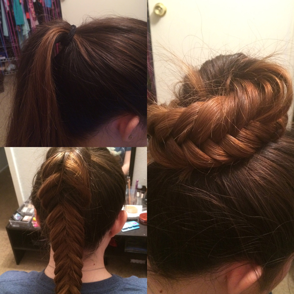 Fishtail-Top-Knot
