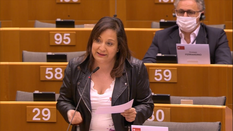 """Iratxe García: """"La Comisión ha presentado un Plan de Recuperación ambicioso y europeísta con más recursos propios y mutualización de deuda"""""""