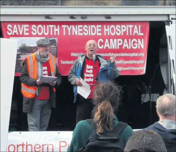 Socialist Party :: Hundreds march to defend South Tyneside ...