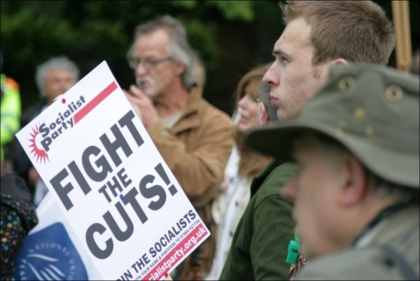 Socialist Party :: Exeter Anti Cuts March and Rally: video ...