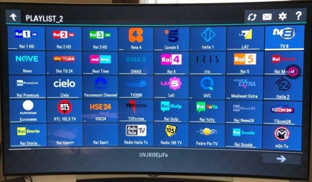 IPTV su smart tv