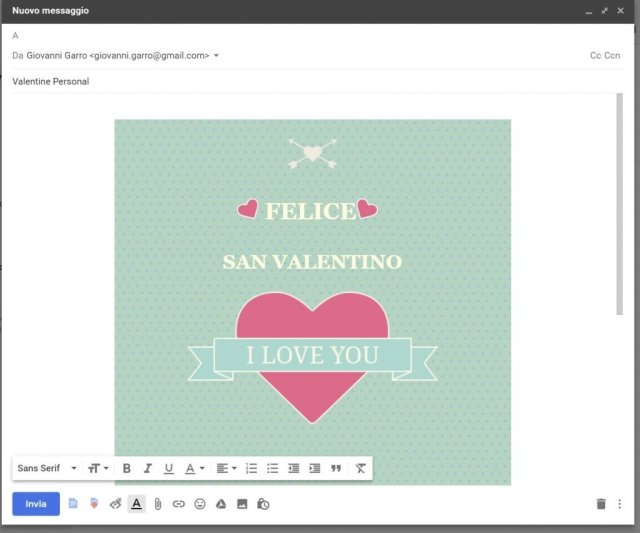Template Gmail