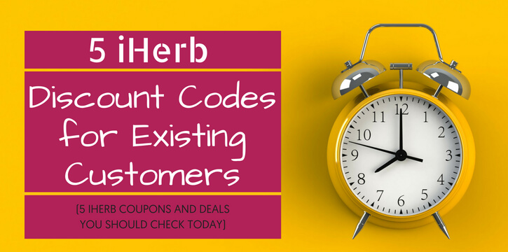 5 iHerb Discount Code for Existing Customers