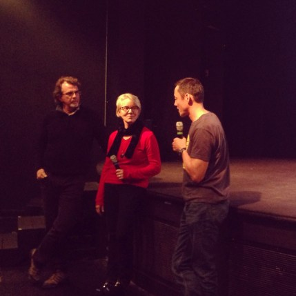 """Zona Intangible"" directors, Anne Hedreen and Rustin Thompson."