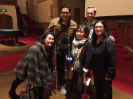 An incredible panel discussion on Opening Night at EAST of SALINAS, with Aurora Martin of Columbia Legal Services, Eric Gonzales Alfaro of Washington State Labor Council, Lola Vasquez and Joe Morrison of Northwest Justice Project.