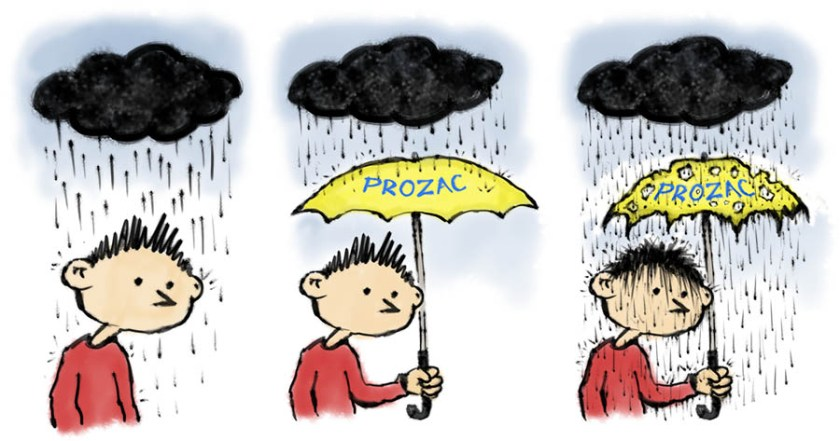 prozac umbrella
