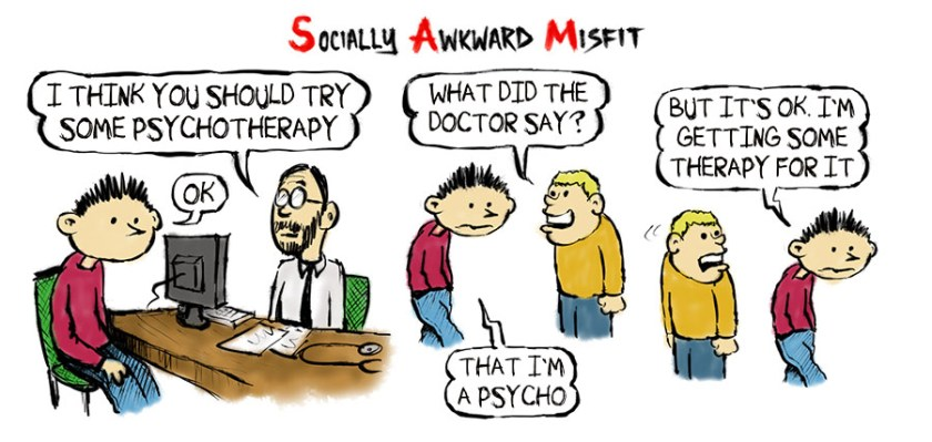 psycho therapy cartoon comic