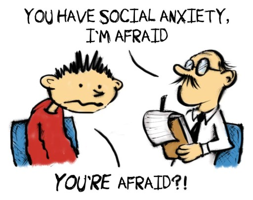 social anxiety afraid