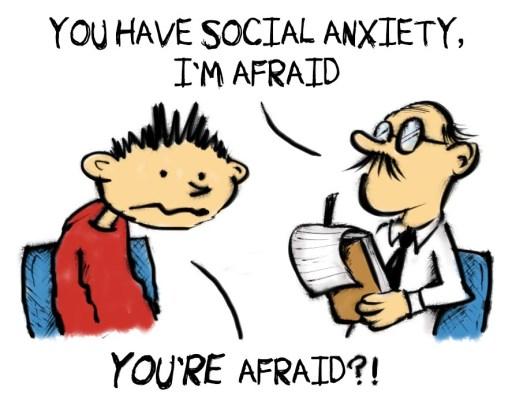 social anxiety afraid