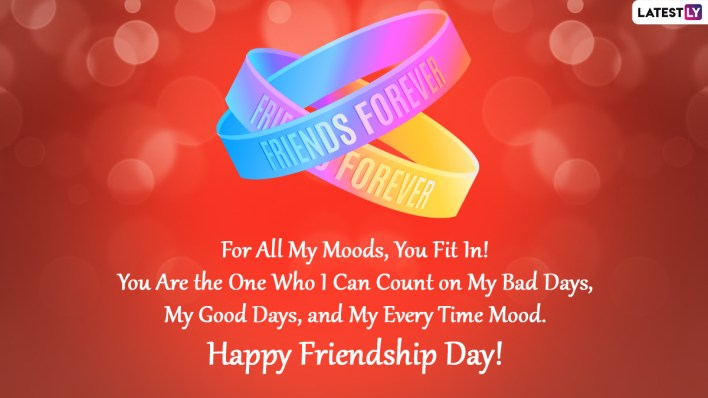 2 Friendship Day Messages - scoailly keeda