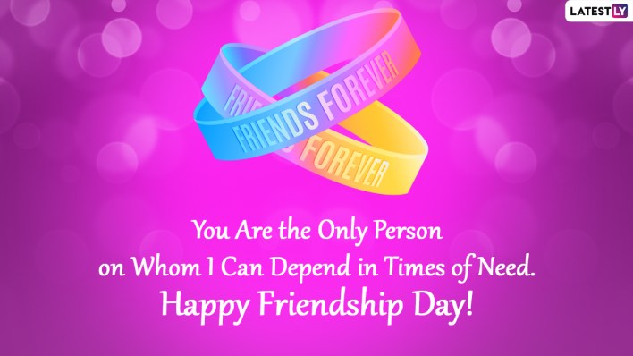 6 Friendship Day Messages - scoailly keeda