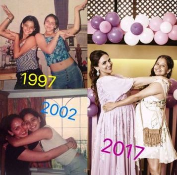 Esha Deol With Her Best Friend
