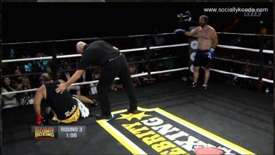 Bregman Shines vs Celebrity Boxing Heavyweight Champ in Controversial Decision