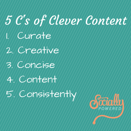 5 C's of Clever Content