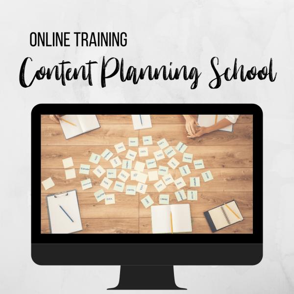 Content Planning School Leer content ideeen bedenken en een content planning maken