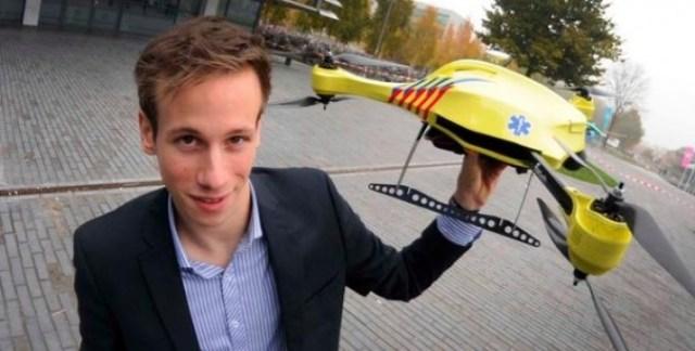 Il Drone che salva la vita
