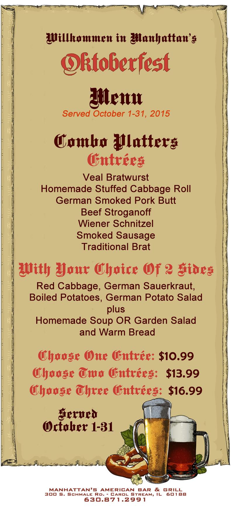 souper oktoberfest menu