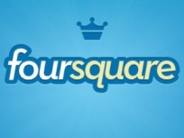 Foursquare-Logo, Foursquare: Location-based Service und Neukundengewinnung