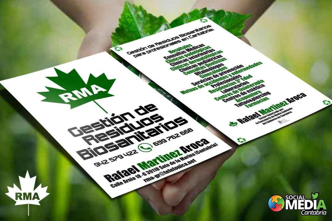 Diseño gráfico en Cantabria Gestión de Residuos