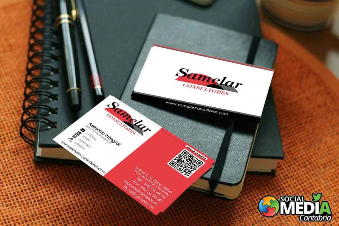 Samelar-consultores-nueva--Diseno-tarjetas-de-visita-Social-Media-Cantabria