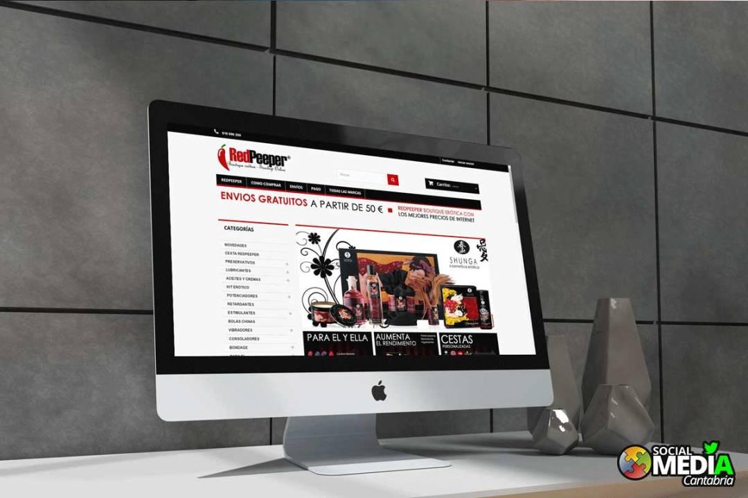 Tienda online en Cantabria Redpeeper