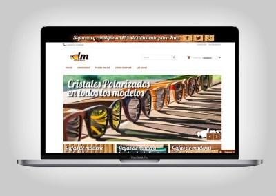Tienda online Gafas de madera