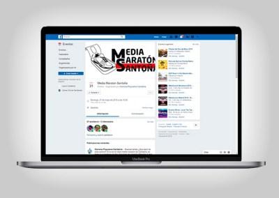 Redes Sociales Media Maratón Santoña
