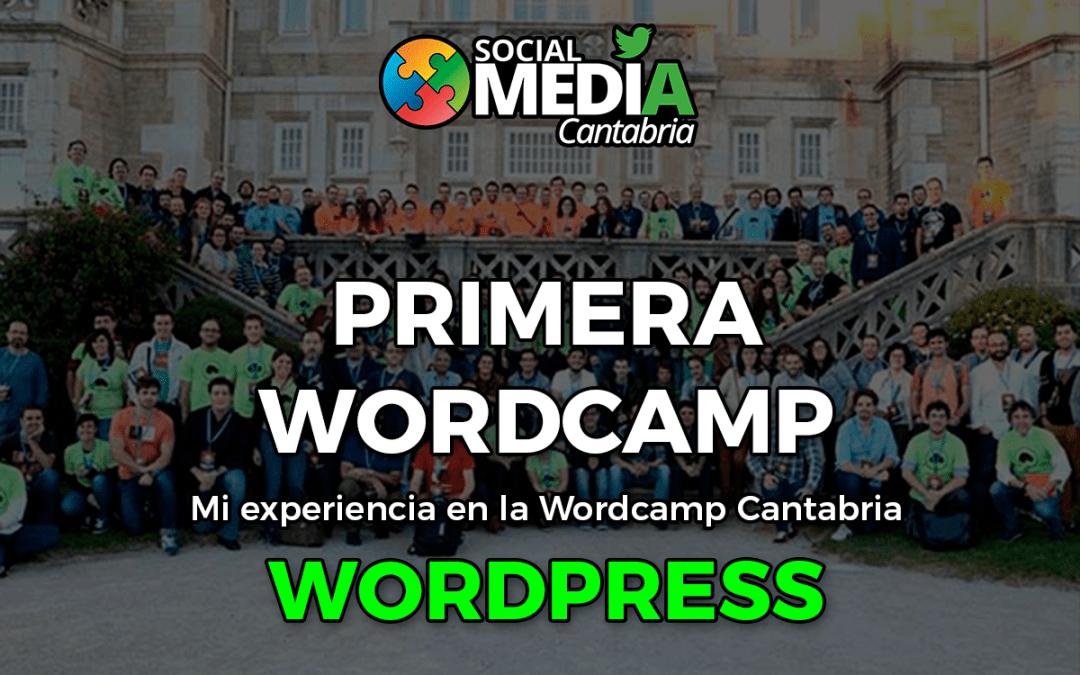 Mi experiencia en WordCamp Cantabria