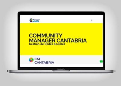 Web Community Manager Cantabria
