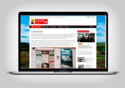 Web Fundacion Bruno Alonso