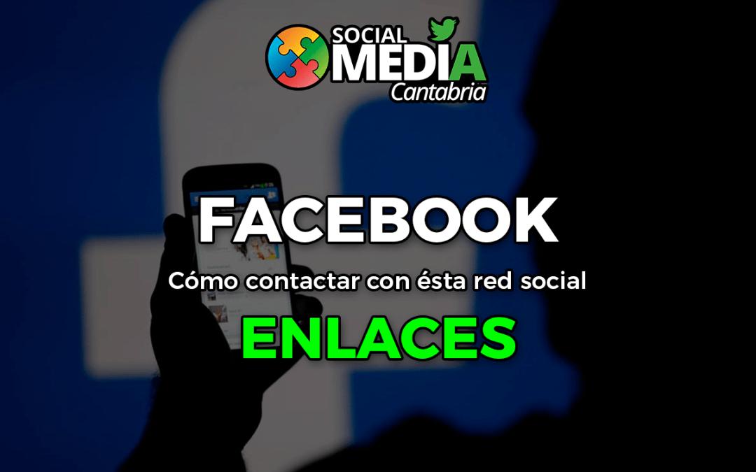 Como contactar con Facebook – Julio 2017