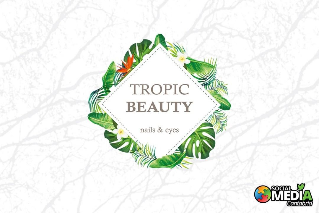 Diseño branding Tropic Beauty - Diseño corporativo en Cantabria