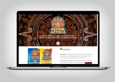 Web Señor Azteca