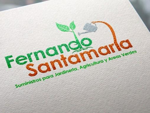 Logotipo Fernando Santamaría
