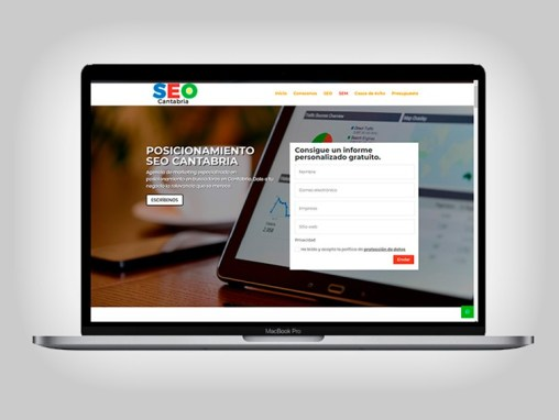 Web SEO en Cantabria