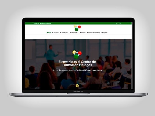 Web Centro de Formación Pielagos