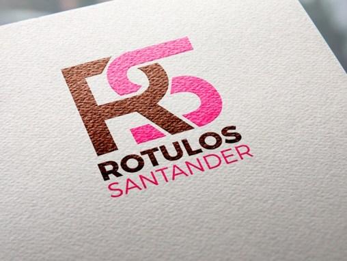 Logotipo Rótulos Santander