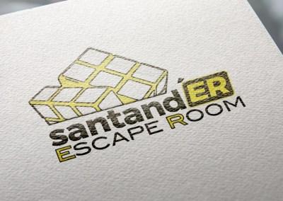 Logotipo Santand'ER Escape Room